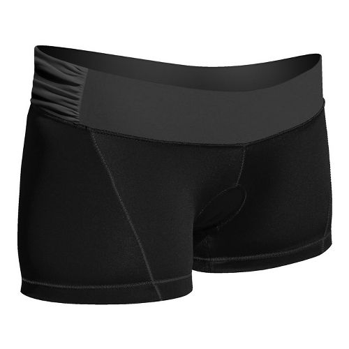 Womens De Soto Femme Carrera Micro Tri Fitted Shorts - Victorious Black XS