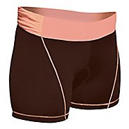 Womens De Soto Femme Carrera Tri Low-Rise Fitted Shorts