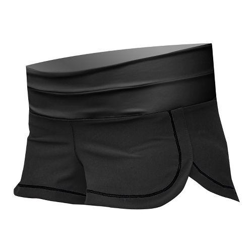 Womens De Soto Femme Run Lined Shorts - Black M