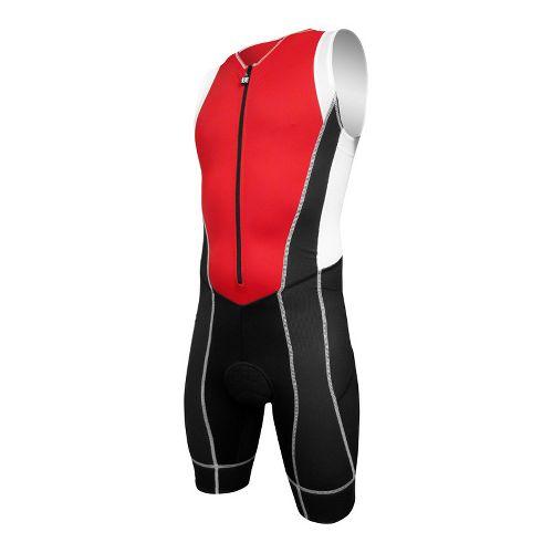 Mens De Soto Forza Triathlon UniSuits - Red/Black XL