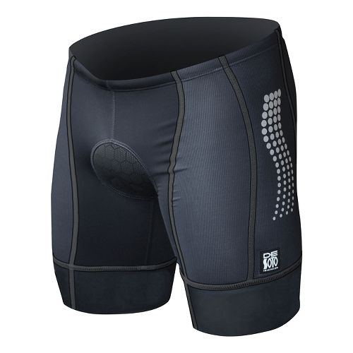 Mens De Soto Forza Tri Low-Cut Fitted Shorts - Black S
