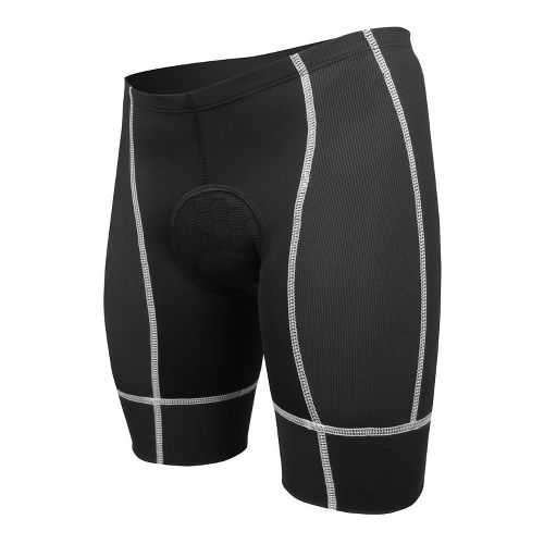 Mens De Soto Forza Tri Low-Cut Fitted Shorts - Black/White L
