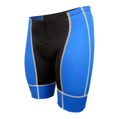 Mens De Soto Forza Tri Low-Cut Fitted Shorts - Royal/White L