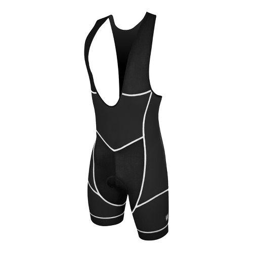 Mens De Soto Riviera Tri Bib Triathlon UniSuits - Black L