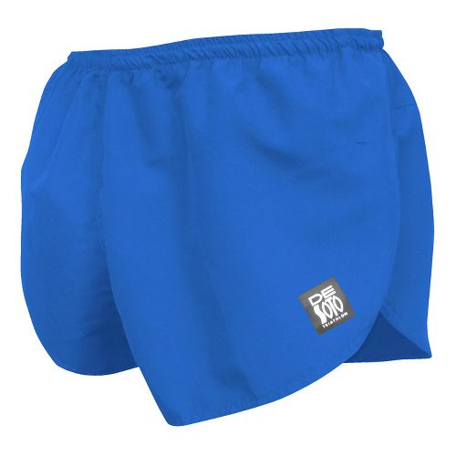Mens De Soto Quick Split Run Lined Shorts - Royal M
