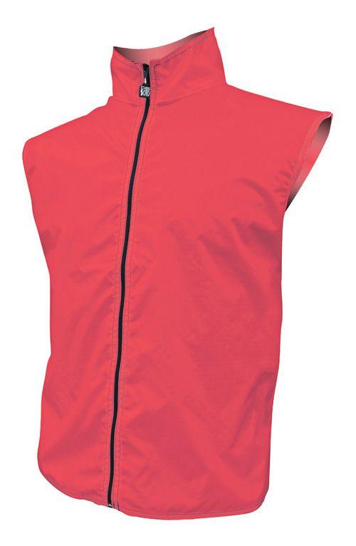 De Soto Windansea Running Vests - Red S