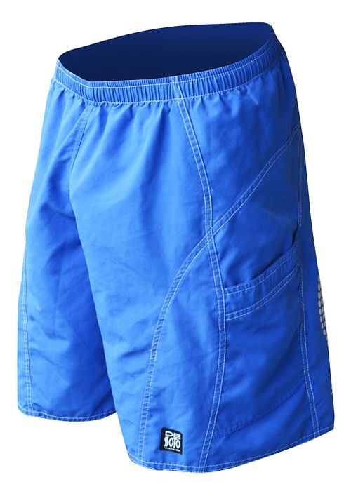 Mens De Soto Playa Run Lined Shorts - Royal S