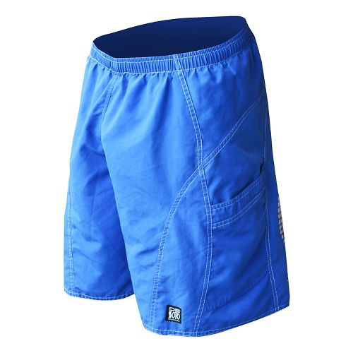 Mens De Soto Playa Run Lined Shorts - Royal L