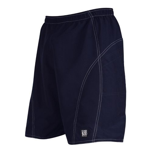 Mens De Soto Playa Run Lined Shorts - Navy L