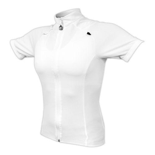 Womens De Soto Femme Bike Jersey Short Sleeve Technical Tops - White S