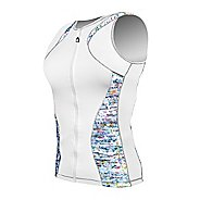 Womens De Soto Femme Riviera Tri Jersey Sleeveless Technical Tops