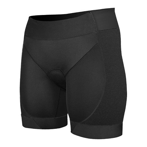 Womens De Soto Femme Riviera Tri with Feminine Pad Fitted Shorts - Black S