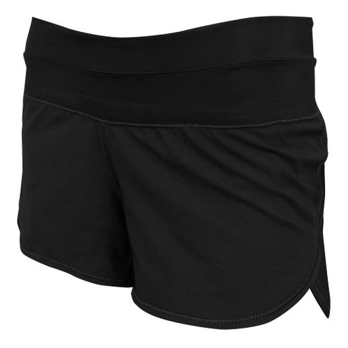 Womens De Soto Femme Run Lined Shorts - Black XL