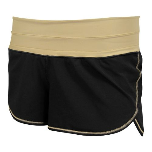 Womens De Soto Femme Run Lined Shorts - Khaki XL