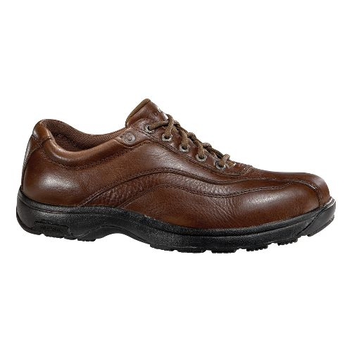 Mens Dunham Highland Park Casual Shoe - Smooth Brown 7.5