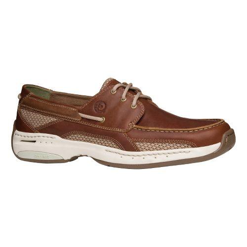 Mens Dunham Nautical 3-Eye Casual Shoe - Brown 8.5