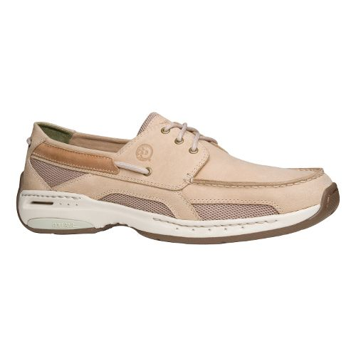 Mens Dunham Nautical 3-Eye Casual Shoe - Off White 10.5