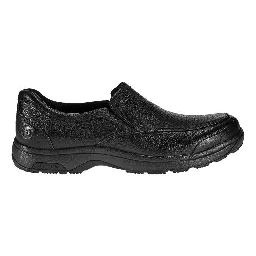 Mens Dunham Battery Park Slip-On Casual Shoe - Black 14