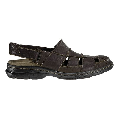 Mens Dunham Monterey Fisherman Sandal Sandals Shoe - Brown 12