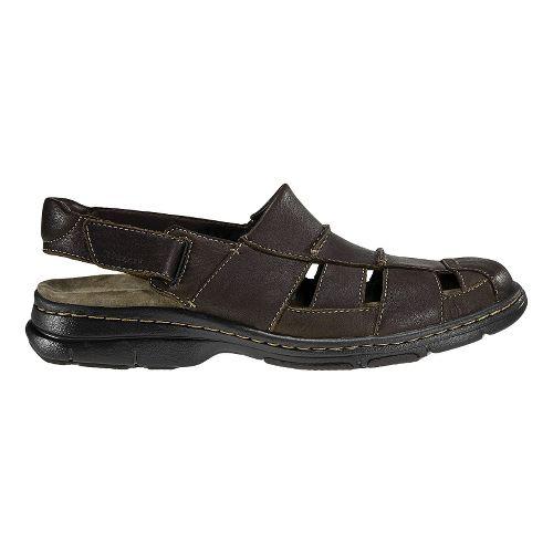 Mens Dunham Monterey Fisherman Sandal Sandals Shoe - Brown 15