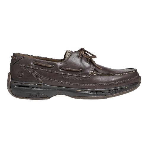 Mens Dunham Shoreline Casual Shoe - Smooth Brown 8