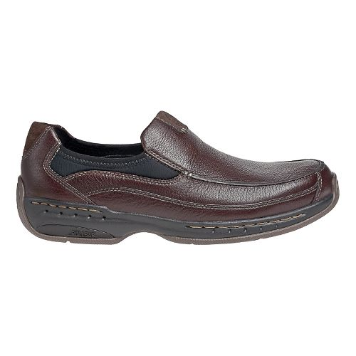 Mens Dunham Wade Casual Shoe - Brown 13