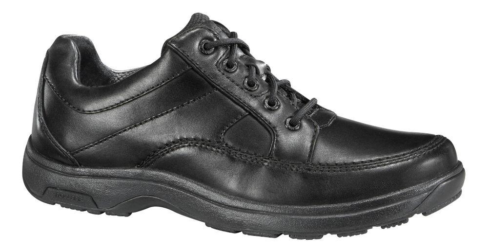 mens dunham midland lace up shoes black black