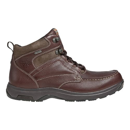Mens Dunham Exeter Casual Shoe - Dark Brown 10.5