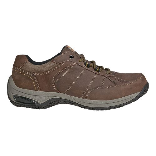 Mens Dunham Lexington Casual Shoe - Dark Brown 10