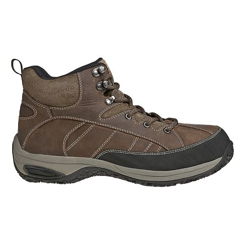 Mens Dunham Lawrence Steel Casual Shoe - Dark Brown 13