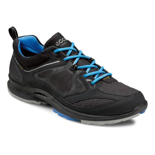 Womens Ecco USA Biom Ultra Quest GTX Trail Running Shoe - Black/Black 42