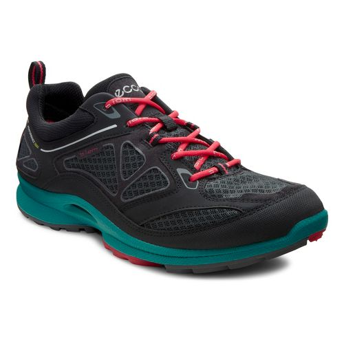 Womens Ecco USA Biom Ultra Quest Trail Running Shoe - Black/Dark Shadow 35