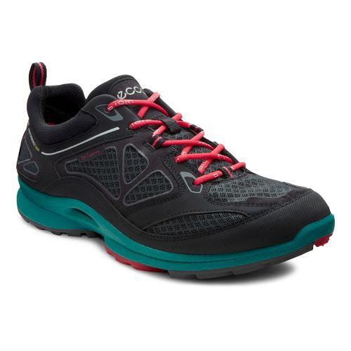 Womens Ecco USA Biom Ultra Quest Trail Running Shoe - Black/Dark Shadow 42