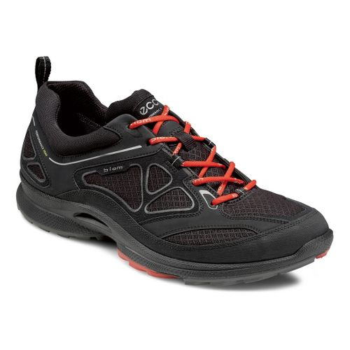 Mens Ecco USA Biom Ultra Quest Trail Running Shoe - Black/Black 42