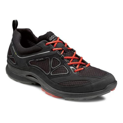 Mens Ecco USA Biom Ultra Quest Trail Running Shoe - Black/Black 42
