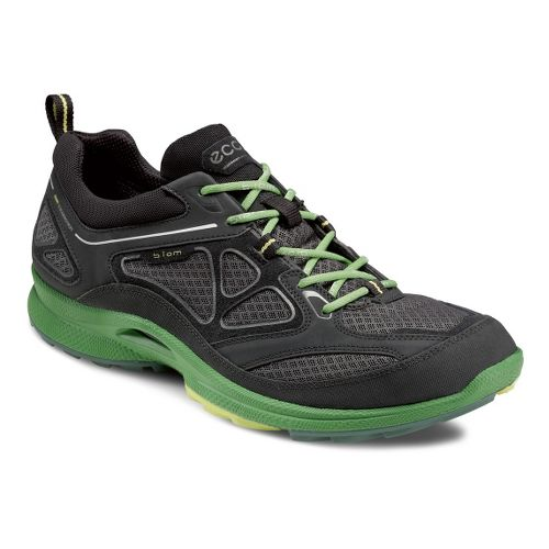 Mens Ecco USA Biom Ultra Quest Trail Running Shoe - Black/Dark Shadow 46