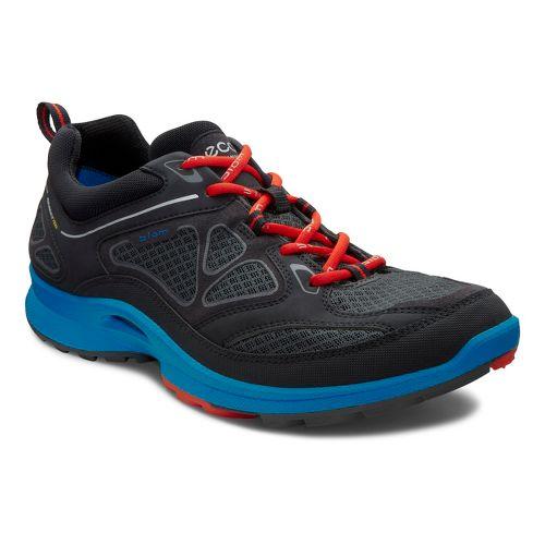 Mens Ecco USA Biom Ultra Quest Trail Running Shoe - Black/Dynasty 44