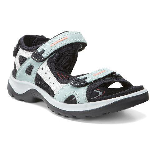 Womens Ecco USA Offroad-Yucatan Sandals Shoe - Ice Flower 42