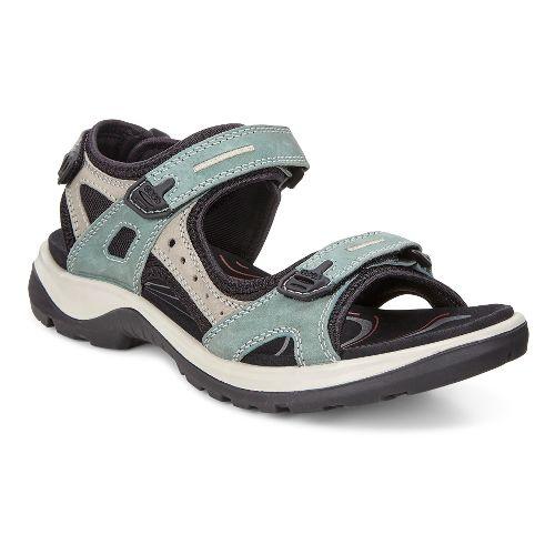 Womens Ecco Yucatan Sandals Shoe - Frosty Green 36