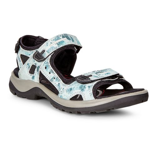 Womens Ecco Yucatan Sandals Shoe - Biscayan 36