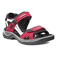 Womens Ecco Yucatan Sandals Shoe - Chili Red 42
