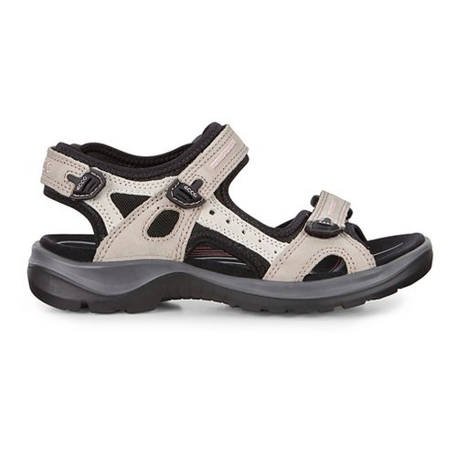 Womens Ecco Yucatan Sandals Shoe - Atmosphere/Ice White 40
