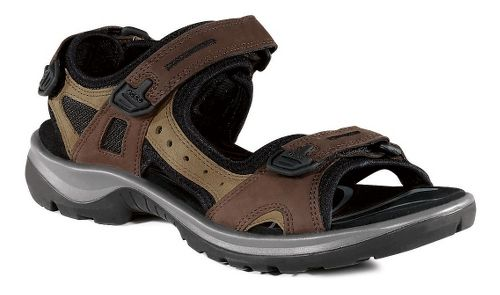 Womens Ecco Yucatan Sandals Shoe - Bison/Mineral 35