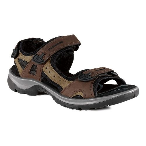 Womens Ecco USA Offroad-Yucatan Sandals Shoe - Bison/Mineral 36