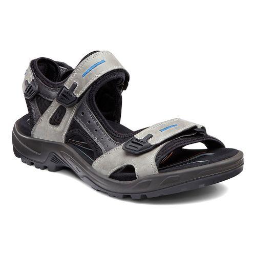 Mens Ecco Offroad-Yucatan Sandals Shoe - Wild Dove/Titanium 41