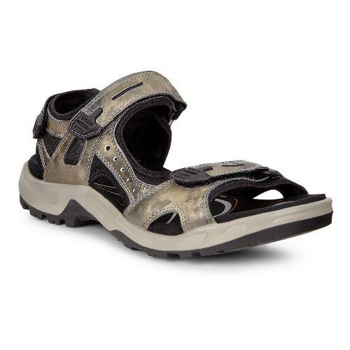 Mens Ecco Offroad-Yucatan Sandals Shoe - Tarmac 40