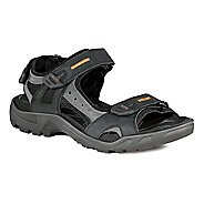 Mens Ecco Offroad-Yucatan Sandals Shoe - Black/Mole 50