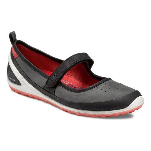 Womens Ecco USA Biom Lite 1.2 MJ Walking Shoe - Black/Dark Shadow 38