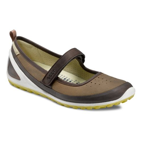 Womens Ecco USA Biom Lite 1.2 MJ Walking Shoe - Coffee/Pebble 37