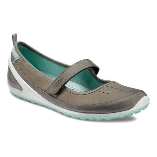 Womens Ecco USA Biom Lite 1.2 MJ Walking Shoe - Warm Grey/Moon rock 36